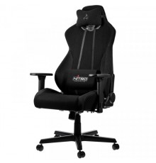 Nitro Concepts S300 Gaming Chair - Quality Fabric & Cold Foam - Stealth Black