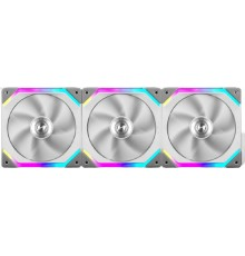 Lian Li UNI Fan SL 120 Triple White Case Fan Pack - aRGB PWM 120mm 1900RPM (3pcs) with controller
