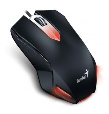 GENIUS GAMING MOUSE, 1000DPI, 3BUTTONS, RED ILLUMINATION