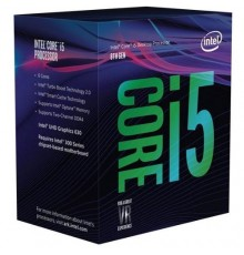 CPU INTEL COREI5 3.0/4.1GHz LGA1151v2 6C/6T UHD630 9MB BOX