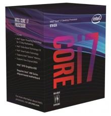 CPU INTEL COREI7 3.70GHz 6C/12T LGA1151 12MB UHD630 BOX