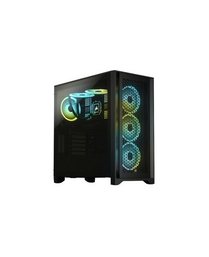 CORSAIR 4000D AIRFLOW MID TOWER BLACK WITH TEMPERED GLASS - GAMING CASE