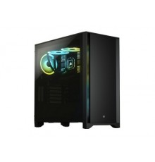 CORSAIR 4000D MID TOWER BLACK WITH TEMPERED GLASS - GAMING CASE