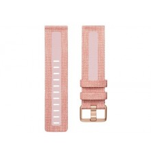 Fitbit Band Versa - Woven - Pink - Large
