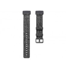 Fitbit Band Charge 3 - Woven - Charcoal - Large