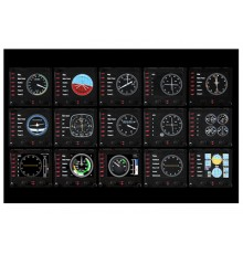 SAITEK Pro Flight Instrument Panel - Ενσύρματο Controller